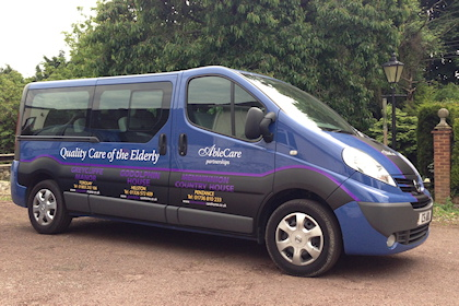 care home minivan
